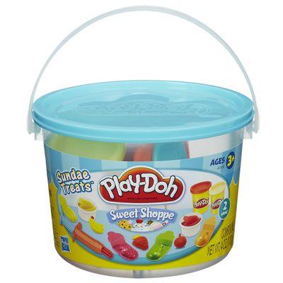 Massinha Play-Doh - Balde de Comidinhas - Hasbro