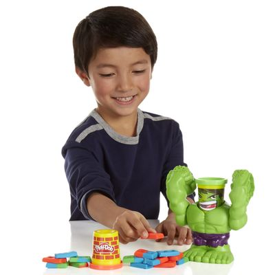Massinha Play-Doh - Esmaga Hulk Marvel - Hasbro - Disney