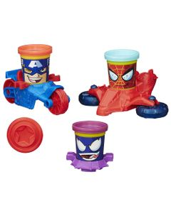B0606-Massinha-Play-Doh-Veiculos-Marvel-Hasbro