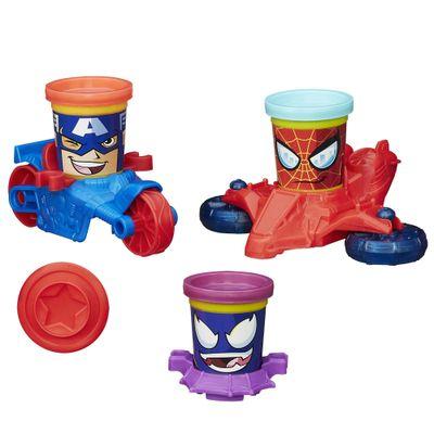 B0606-Massinha-Play-Doh-Veiculos-Marvel-Hasbro