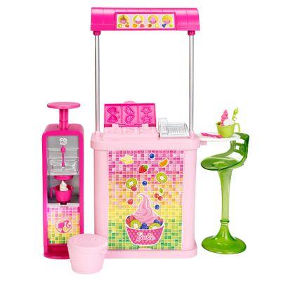 Sorveteria - Barbie - Três é Demais - Mattel