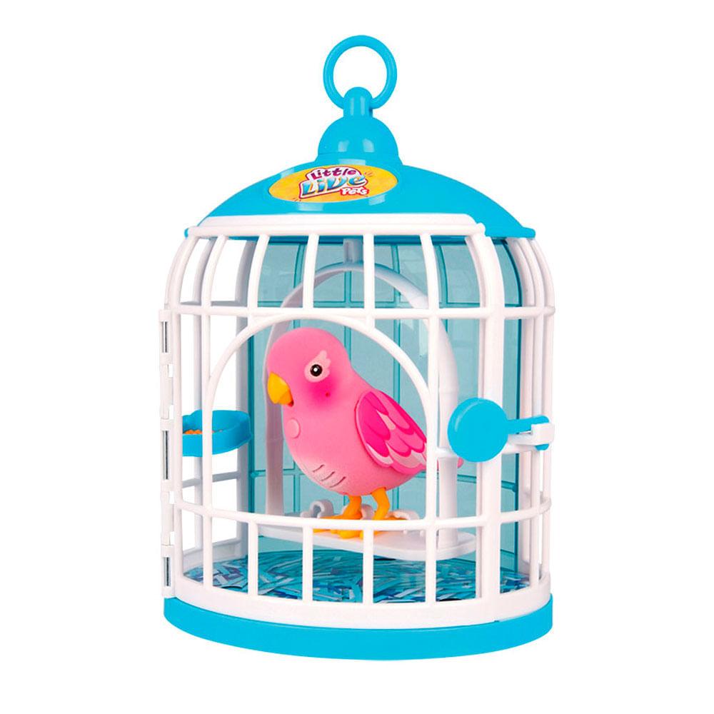 Little Live Pets - Pássaro e Gaiola - DTC