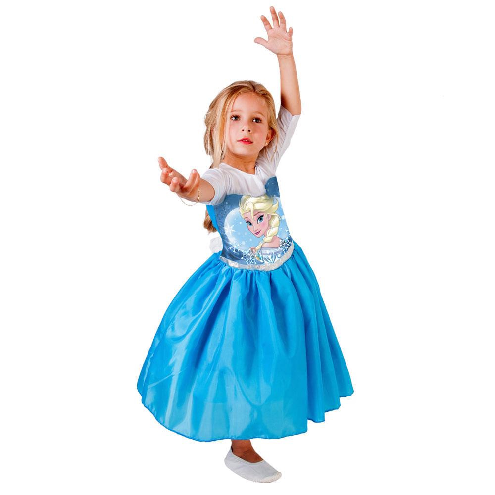 Fantasia Standard Frozen - Elsa - Rubies Fantasia Standard Frozen - Elsa - Tam P - Rubies