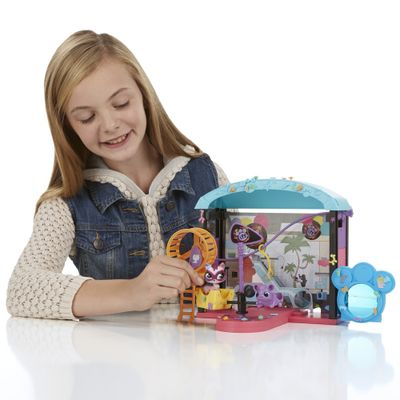 Conjunto Parque Divertido Littlest Pet Shop - Hasbro