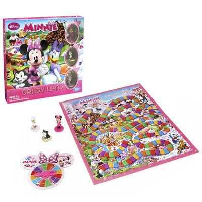 Jogo Candy Land Minnie Mouse Disney - Hasbro