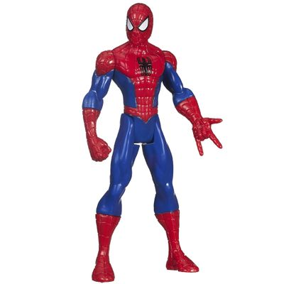 B1245-Boneco-Ultimate-Spider-Man-Web-Warriors-14-cm-Classic-Spider-Man-Hasbro