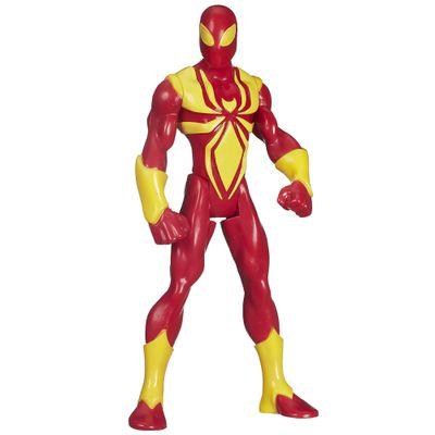 B1247-Boneco-Ultimate-Spider-Man-Web-Warriors-14-cm-Iron-Spider-Hasbro