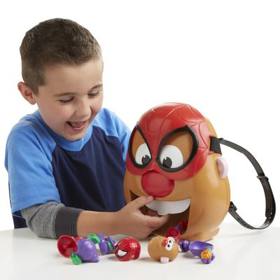 Figura Mashups Playskool - Mr. Potato Head Spider-Man - Hasbro