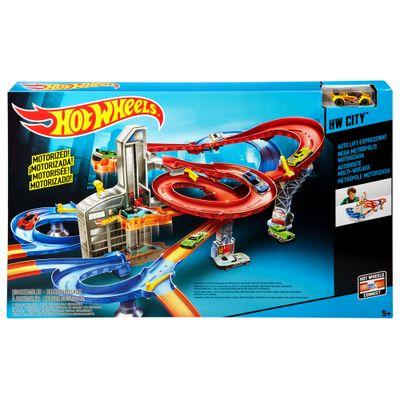 Pista Hot Wheels - Conjunto Metrópole Motorizada - Mattel