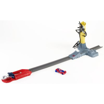 Pista-Combate-Marvel---Spider-Man---Hot-Wheels---Mattel