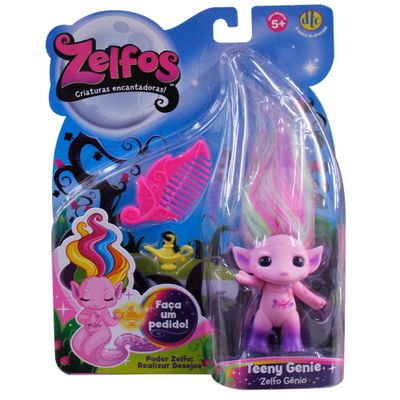 Boneca Zelfos - Teeny - DTC - Mini Bonecas