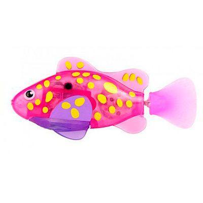 Robô Fish - Rosa e Amarelo - DTC