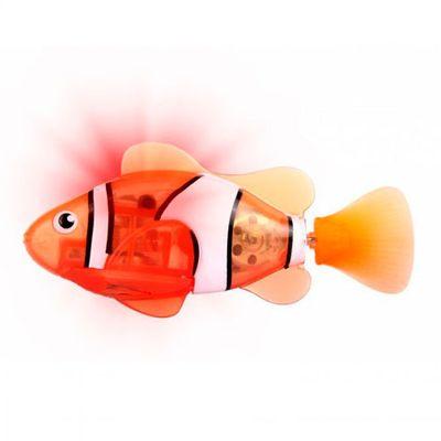 Robô Fish - Laranja e Branco - DTC