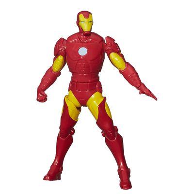 Boneco com Mecanismos - Marvel Avengers - Heróis - Iron Man - 15 Cm - Hasbro - Disney