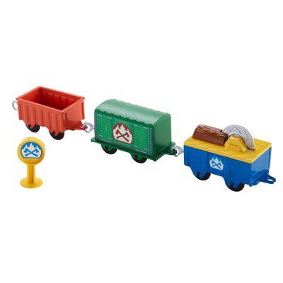 Vagões Carregamento de Lenha - Thomas & Friends - Mattel