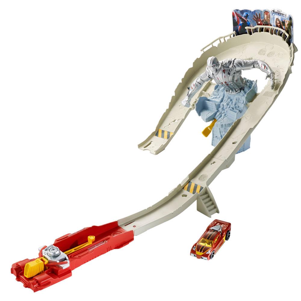 Pista de Corrida Hot Wheels - Vingadores 2 Ataque Ultron - Mattel