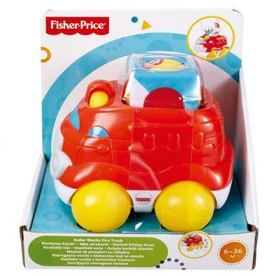 Blocos de Montar - Veículos Surpresa - Bombeiro - Fisher Price