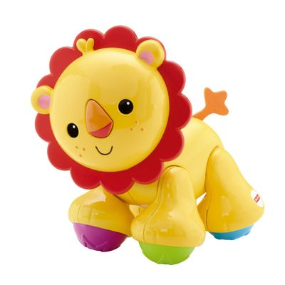 Patas Divertidas Amigos da Floresta - Leão - Fisher-Price