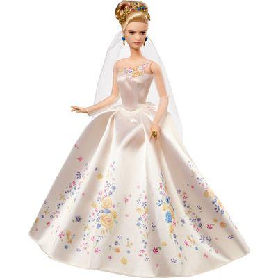 Boneca-Colecionavel-Disney-Princesas---Cinderela-Vestida-de-Noiva---Mattel-1