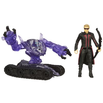 Boneco Marvel Avengers - Age of Ultron 6,35 cm - Hawkeye vs Sub-Ultron 004 - Hasbro - Disney