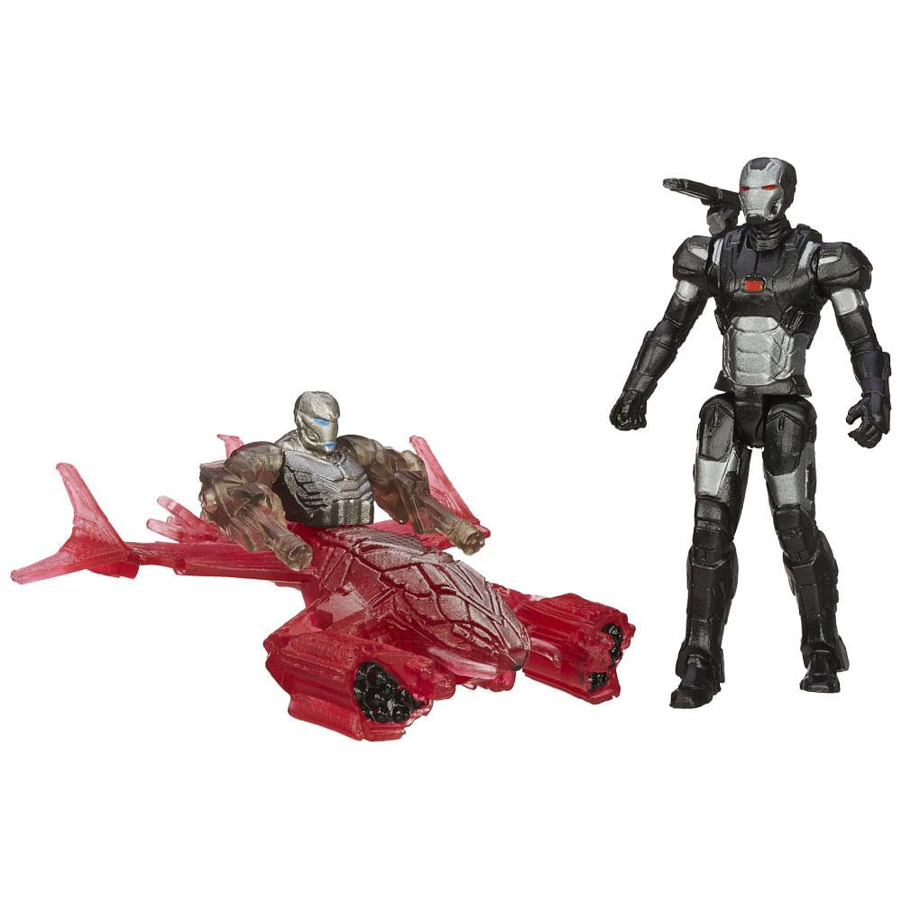 Boneco Marvel Avengers - Age of Ultron 6,35 cm - War Machine vs Sub - Ultron 006 - Hasbro