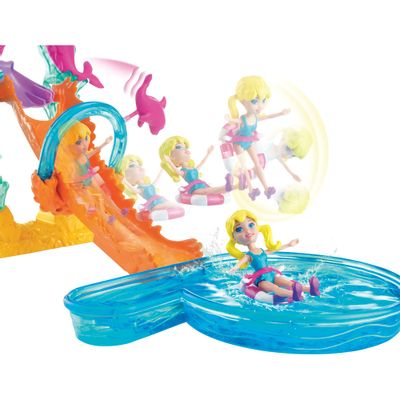 Playset Polly Pocket - Parque Aquático da Polly - Mattel
