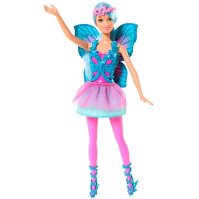 Boneca Barbie - Mix & Match - Fada Azul - Mattel
