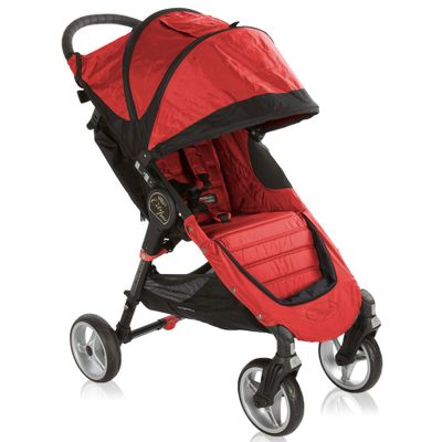 Carrinho-de-Passeio-City-Mini-4W---Crimson-e-Black---Baby-Jogger