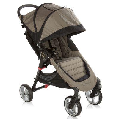 Carrinho-de-Passeio-City-Mini-4W---Sand-e-Black---Baby-Jogger