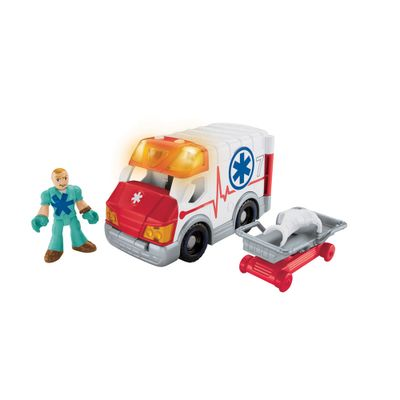 Conjunto Imaginext City - Imaginext City Ambulância - Fisher-Price