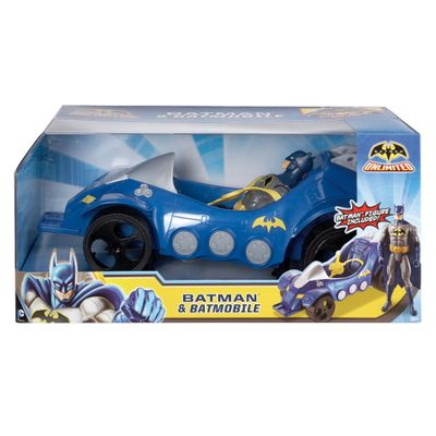 Veículo Batmóvel com Personagem - Mattel