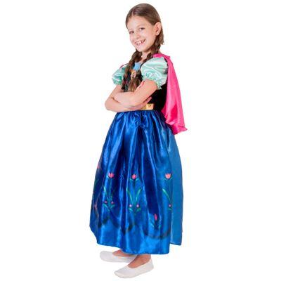 Fantasia Infantil Frozen - Princesa Anna - Rubies - P - Disney
