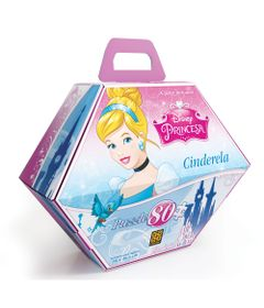 Bolsa-Quebra-Cabeca-80-Pecas---Princesas-Disney-Cinderela---Grow