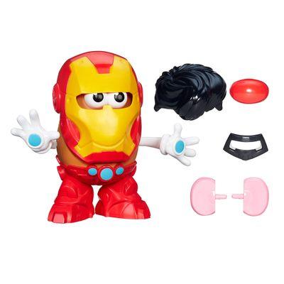 Boneco Mr Potato Head Clássico - Marvel Homem de Ferro - Playskool - Hasbro - Disney