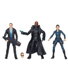 Bonecos-Marvel-Legends-15-cm---Maria-Hill-Nick-Fury-e-Agent-Carter---Hasbro
