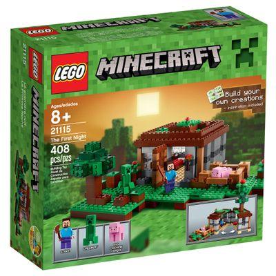 21115-LEGO-Minecraft-A-Primeira-Noite