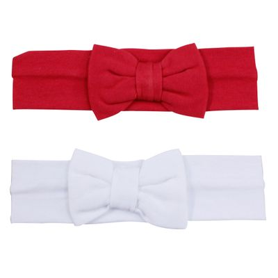 Kit-Tiara-de-Cabelo-Vermelha-e-Branca---2-Un---GBaby