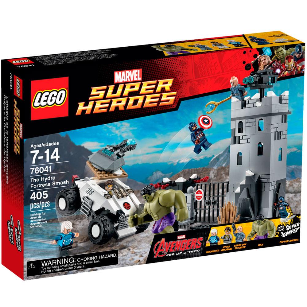 76041 - LEGO Super Heroes - O Combate na Fortaleza de Hydra