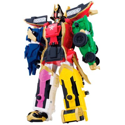 Boneco Power Ranger Super Megaforce - Megazord Lendário 30cm - Sunny