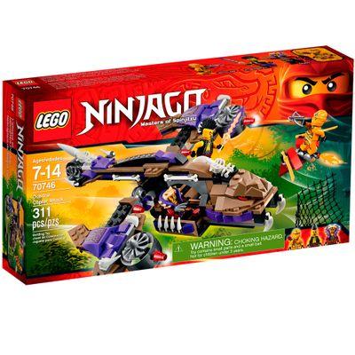70746 - LEGO Ninjago - Ninjas Of Spinjitzu - Ataque de Helicóptero Condrai