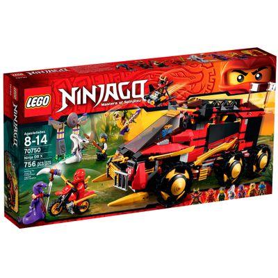 70750 - LEGO Ninjago - Ninjas Of Spinjitzu - Veículo Ninja DBX