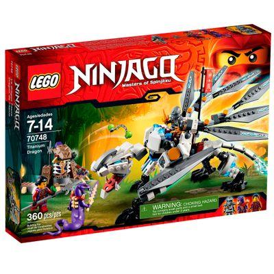 70748 - LEGO Ninjago - Dragão de Titânio