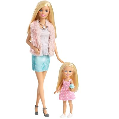 Boneca Barbie Family 3 é Demais - Barbie e Chelsea - Mattel
