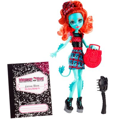 Boneca Monster High - Intercâmbio Monstruoso - Lorna McNessie - Mattel