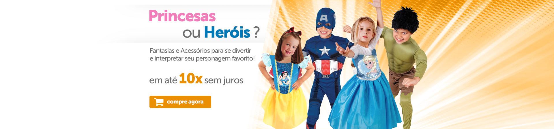 Princesas ou Heróis
