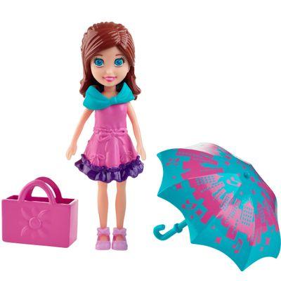 Boneca Polly Pocket - Férias com as Amigas - Lila - Mattel