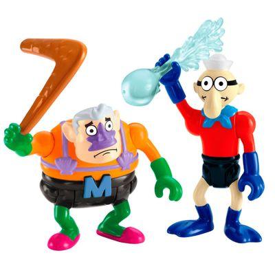 Mini Figuras Bob Esponja - Homem-Sereia e Mexilhãozinho - Imaginext - Fisher-Price