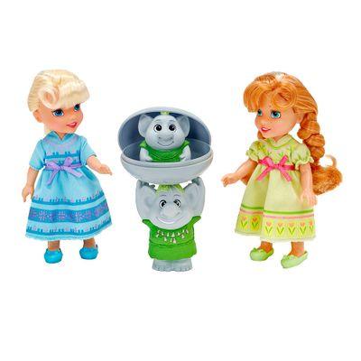 Bonecas Disney Frozen - Anna e Elsa com Trolls - Sunny