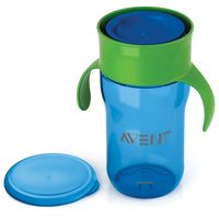 Copo-Natural---340-ml---Azul---Philips-Avent