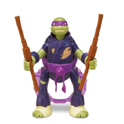 Boneco Tartarugas Ninjas Throw In Battle - Donatello - Multikids